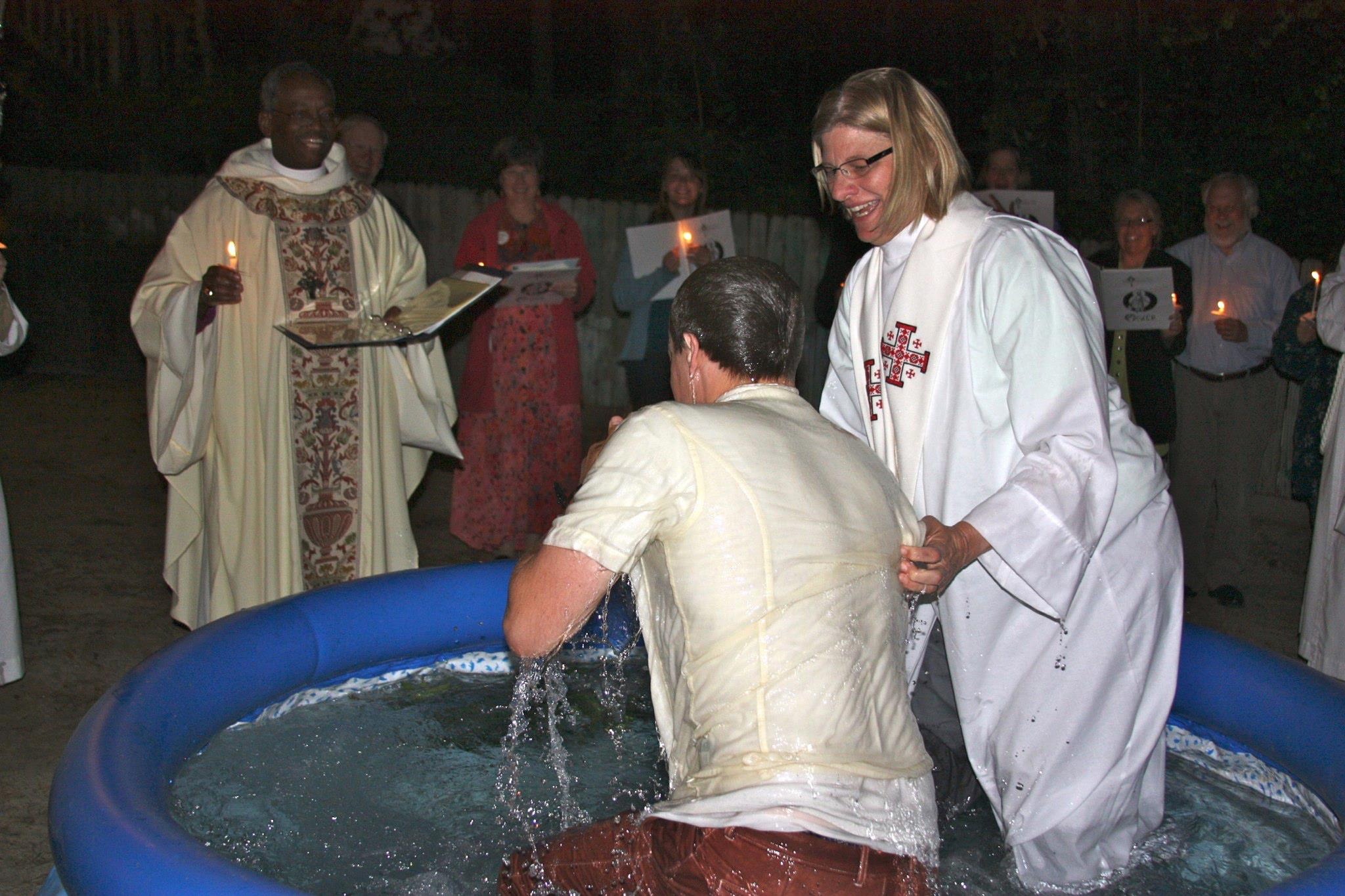 What to do at baptism 90